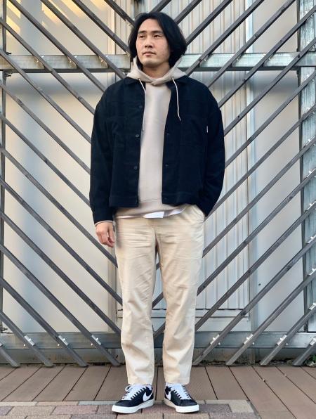 417 EDIFICEのライトコールブッチャーパンツを使ったコーディネートを紹介します。|Rakuten Fashion(楽天ファッション/旧楽天ブランドアベニュー)1085424