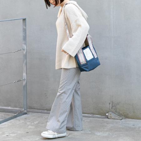 Daily russetの【新色追加】ジャガードテープ2wayトートバッグ(S)/デイリーラシット別注を使ったコーディネートを紹介します。|Rakuten Fashion(楽天ファッション/旧楽天ブランドアベニュー)1085445