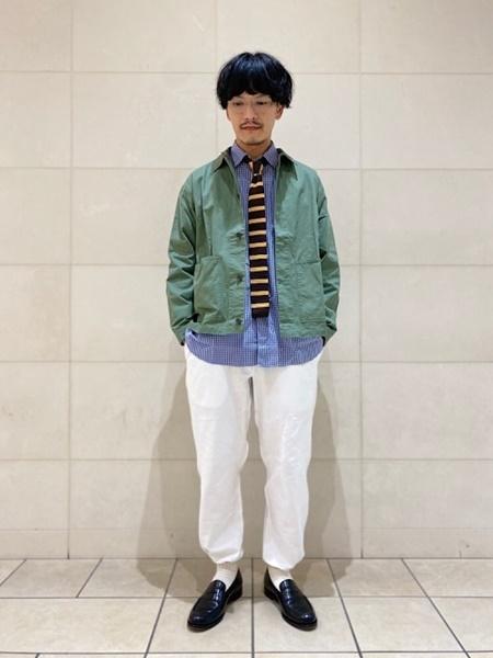 SHIPSのSHIPS any: チェック/花柄 リラックス レギュラーカラー シャツ 2021 SPRINGを使ったコーディネートを紹介します。|Rakuten Fashion(楽天ファッション/旧楽天ブランドアベニュー)1085651