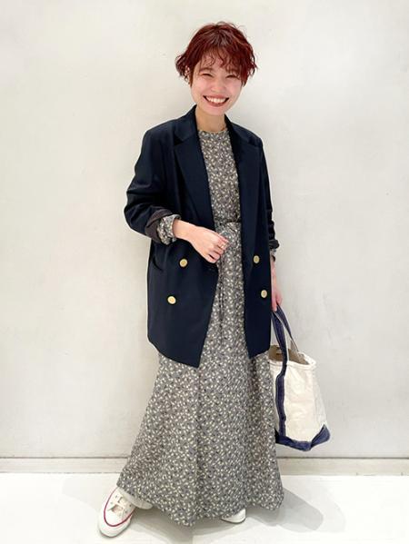JOURNAL STANDARDのフラワープリント2WAYワンピースを使ったコーディネートを紹介します。|Rakuten Fashion(楽天ファッション/旧楽天ブランドアベニュー)1085768