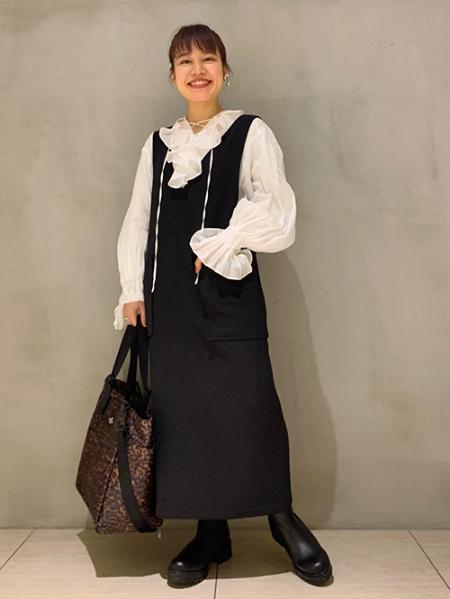 JOURNAL STANDARDのBAGS IN PROGRESS/SIDE POCKET TOTE leopar:トートバッグを使ったコーディネートを紹介します。 Rakuten Fashion(楽天ファッション/旧楽天ブランドアベニュー)1085752
