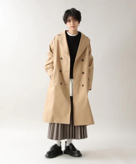 RAGEBLUEの(W)エコレザープリーツSKを使ったコーディネートを紹介します。|Rakuten Fashion(楽天ファッション/旧楽天ブランドアベニュー)1085863