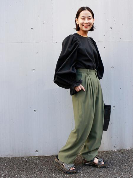 JOURNAL STANDARDの綿ナイロンビックパフブラウス◆を使ったコーディネートを紹介します。|Rakuten Fashion(楽天ファッション/旧楽天ブランドアベニュー)1085891