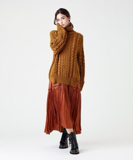 EPOCA THE SHOPのタートルネックテープコンビニットを使ったコーディネートを紹介します。|Rakuten Fashion(楽天ファッション/旧楽天ブランドアベニュー)1086568