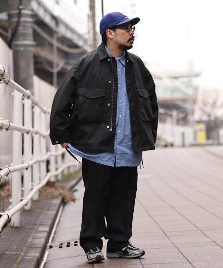 BEAMS MENのBEAMS / ルーズ ミリタリー ブルゾンを使ったコーディネートを紹介します。|Rakuten Fashion(楽天ファッション/旧楽天ブランドアベニュー)1087345