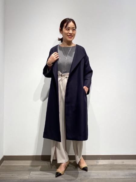 NOBLEの<<追加>>トリプルクロスガウンコート◆を使ったコーディネートを紹介します。|Rakuten Fashion(楽天ファッション/旧楽天ブランドアベニュー)1087447