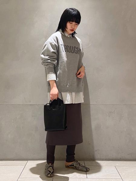 JOURNAL STANDARDの<<追加>>スウェットシャツ【THOUGHT】◆4を使ったコーディネートを紹介します。|Rakuten Fashion(楽天ファッション/旧楽天ブランドアベニュー)1087477