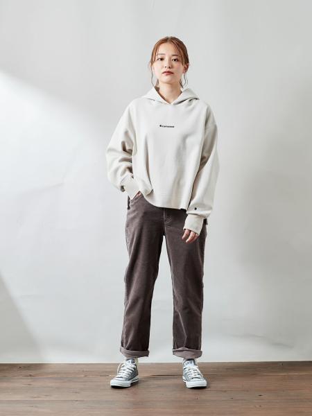 cepoの(W)コンバースフーディを使ったコーディネートを紹介します。 Rakuten Fashion(楽天ファッション/旧楽天ブランドアベニュー)1087673