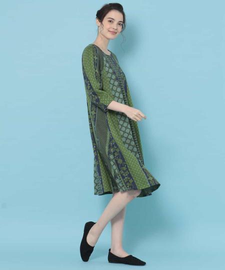 JocomomolaのJardin ジャカードワンピースを使ったコーディネートを紹介します。 Rakuten Fashion(楽天ファッション/旧楽天ブランドアベニュー)1087716