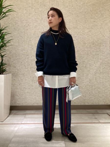 UNITED ARROWSのUWSC バンドカラー ロングシャツ 21SS†を使ったコーディネートを紹介します。|Rakuten Fashion(楽天ファッション/旧楽天ブランドアベニュー)1087733