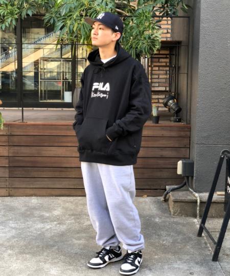 BEAMS TのFILA / FILA * ken Kagami パーカを使ったコーディネートを紹介します。|Rakuten Fashion(楽天ファッション/旧楽天ブランドアベニュー)1087858