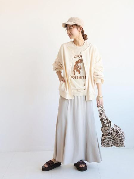 JOURNAL STANDARD relumeのコットンリネンドビーフリンジスカート◆を使ったコーディネートを紹介します。|Rakuten Fashion(楽天ファッション/旧楽天ブランドアベニュー)1087896