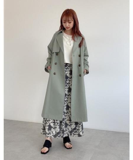 FREE'S MARTの◆<<Sシリーズ対応商品>>ベーシックトレンチコートを使ったコーディネートを紹介します。|Rakuten Fashion(楽天ファッション/旧楽天ブランドアベニュー)1087899
