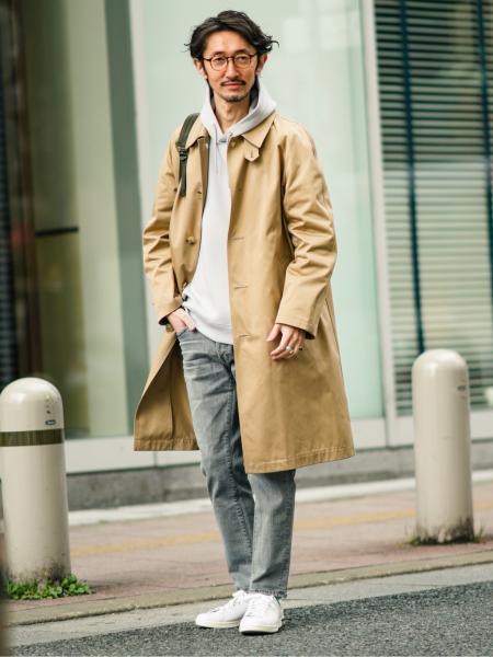 EDIFICEのライトダンボールサイドジップパーカーを使ったコーディネートを紹介します。|Rakuten Fashion(楽天ファッション/旧楽天ブランドアベニュー)1087956