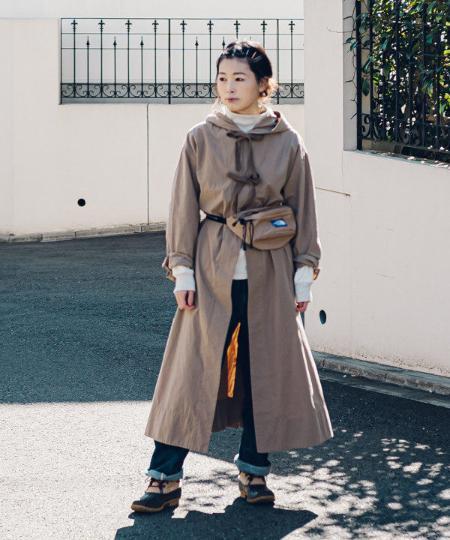BEAMS WOMENのBEAMS BOY / スノーパーカ ロングコートを使ったコーディネートを紹介します。|Rakuten Fashion(楽天ファッション/旧楽天ブランドアベニュー)1087976
