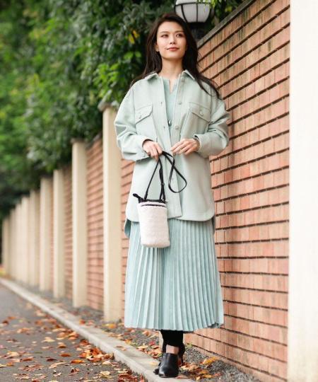 EVEX by KRIZIAの*Wings掲載*【ウォッシャブル】ナチュラルエコスエードスカートを使ったコーディネートを紹介します。|Rakuten Fashion(楽天ファッション/旧楽天ブランドアベニュー)1088004