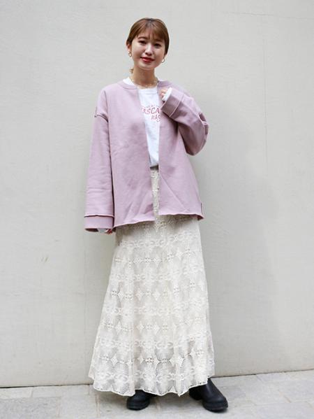 JOURNAL STANDARDのCUT-OFF SWEATカーディガン◆を使ったコーディネートを紹介します。|Rakuten Fashion(楽天ファッション/旧楽天ブランドアベニュー)1089574
