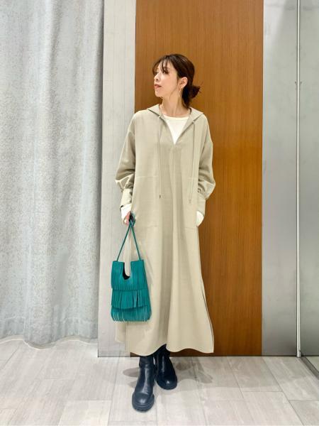 NOBLEの<<追加>>ソフトコットンリブロングTシャツ◆を使ったコーディネートを紹介します。 Rakuten Fashion(楽天ファッション/旧楽天ブランドアベニュー)1089620