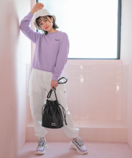 repipi armarioのバックイラストフードウラケPを使ったコーディネートを紹介します。|Rakuten Fashion(楽天ファッション/旧楽天ブランドアベニュー)1089622