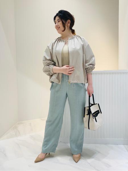 NOBLEの【VIOLA d'ORO】BRUNO キャンバス*レザー バケツガタを使ったコーディネートを紹介します。|Rakuten Fashion(楽天ファッション/旧楽天ブランドアベニュー)1089616