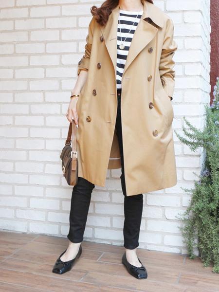Finのスクエアトゥステッチバレエシューズを使ったコーディネートを紹介します。|Rakuten Fashion(楽天ファッション/旧楽天ブランドアベニュー)1089908