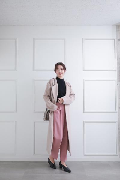 clearのコクーンスリーブニットトップスを使ったコーディネートを紹介します。|Rakuten Fashion(楽天ファッション/旧楽天ブランドアベニュー)1089926