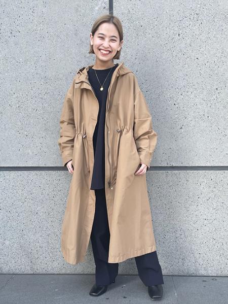 JOURNAL STANDARDのWギャザーフードコート◆を使ったコーディネートを紹介します。 Rakuten Fashion(楽天ファッション/旧楽天ブランドアベニュー)1090057