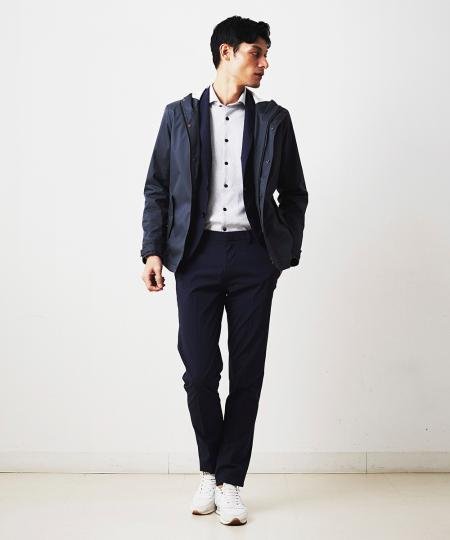 MICHEL KLEIN HOMMEのパンツ(AIR BREATH)を使ったコーディネートを紹介します。|Rakuten Fashion(楽天ファッション/旧楽天ブランドアベニュー)1090501