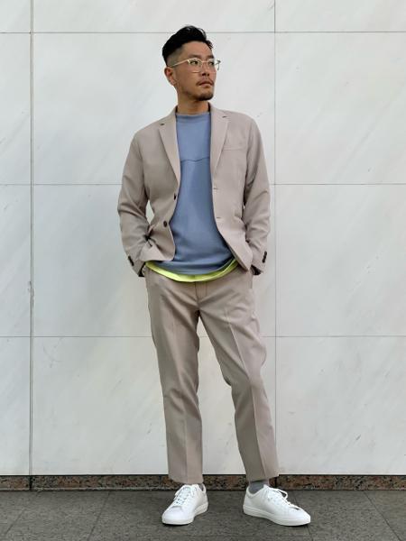 417 EDIFICEのポンチフットボールTEEを使ったコーディネートを紹介します。|Rakuten Fashion(楽天ファッション/旧楽天ブランドアベニュー)1090576