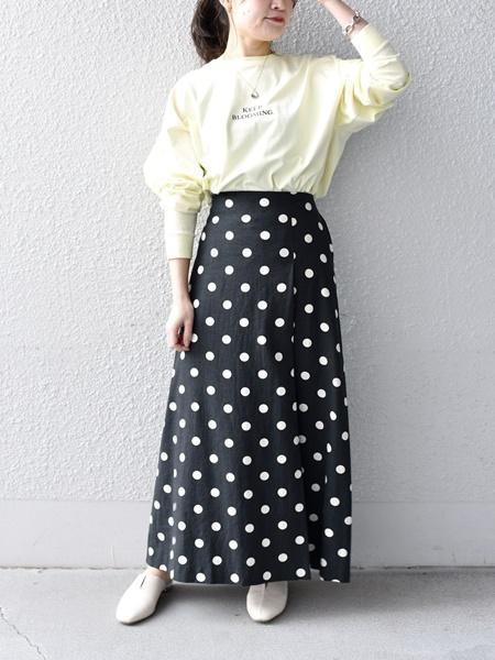SHIPSのメッセージプリントロングスリーブTee◇を使ったコーディネートを紹介します。|Rakuten Fashion(楽天ファッション/旧楽天ブランドアベニュー)1090681