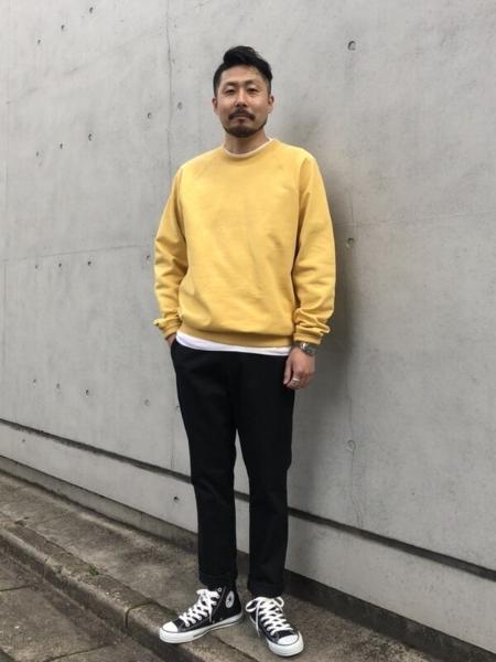 GAPのフレンチテリースウェットを使ったコーディネートを紹介します。 Rakuten Fashion(楽天ファッション/旧楽天ブランドアベニュー)1090693