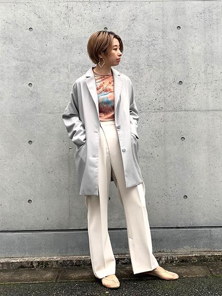 FROM FIRST MUSEEのBOXジャケットを使ったコーディネートを紹介します。|Rakuten Fashion(楽天ファッション/旧楽天ブランドアベニュー)1090922
