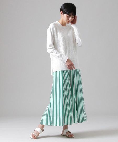 EVEX by KRIZIAの【ウォッシャブル】パンサージャカードニットを使ったコーディネートを紹介します。|Rakuten Fashion(楽天ファッション/旧楽天ブランドアベニュー)1090960