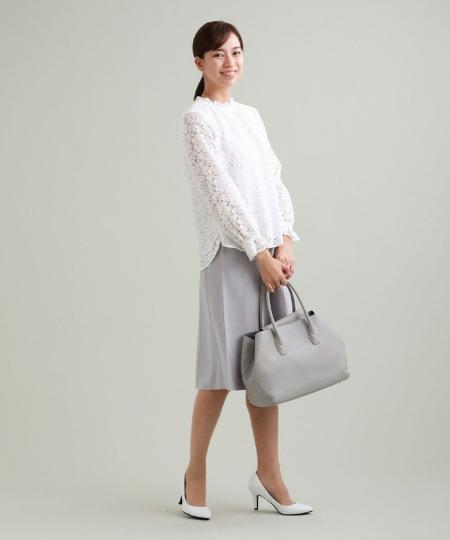 TRANS WORKの【抗菌防臭】【ウォッシャブル】コンフォートストレッチスカートを使ったコーディネートを紹介します。|Rakuten Fashion(楽天ファッション/旧楽天ブランドアベニュー)1091013