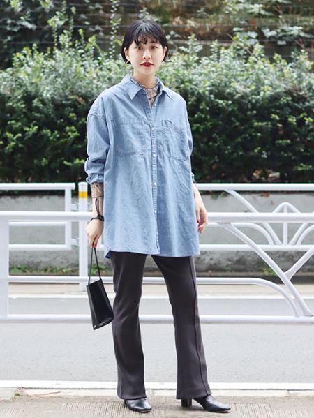 JOURNAL STANDARDのライトシャンブレーシャツ◆を使ったコーディネートを紹介します。|Rakuten Fashion(楽天ファッション/旧楽天ブランドアベニュー)1091417