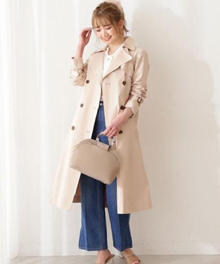 PROPORTION BODY DRESSINGのトレンチコートを使ったコーディネートを紹介します。 Rakuten Fashion(楽天ファッション/旧楽天ブランドアベニュー)1091479