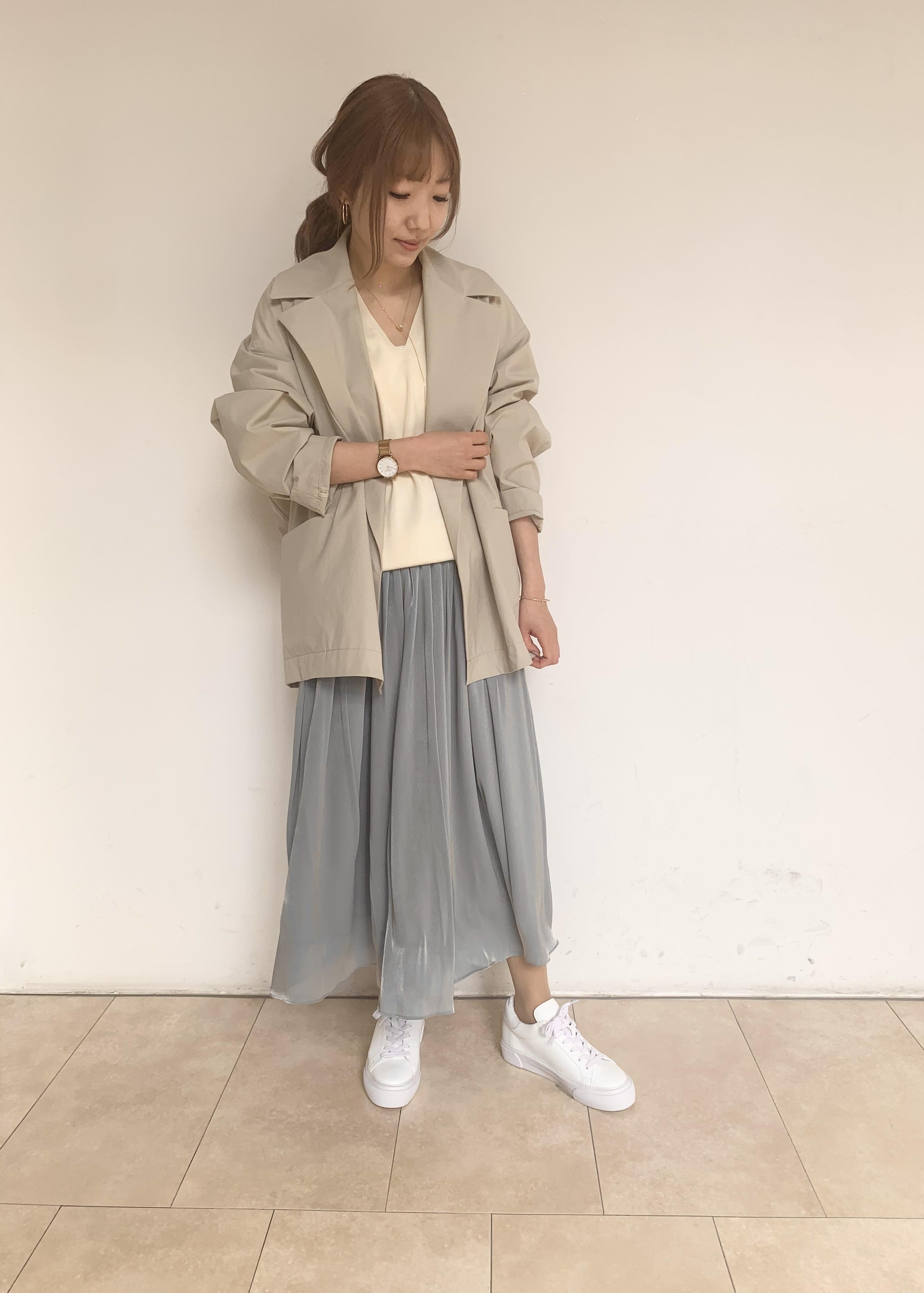 ROPE'の【インソール入り】スタイルアップスニーカーを使ったコーディネートを紹介します。|Rakuten Fashion(楽天ファッション/旧楽天ブランドアベニュー)1099191