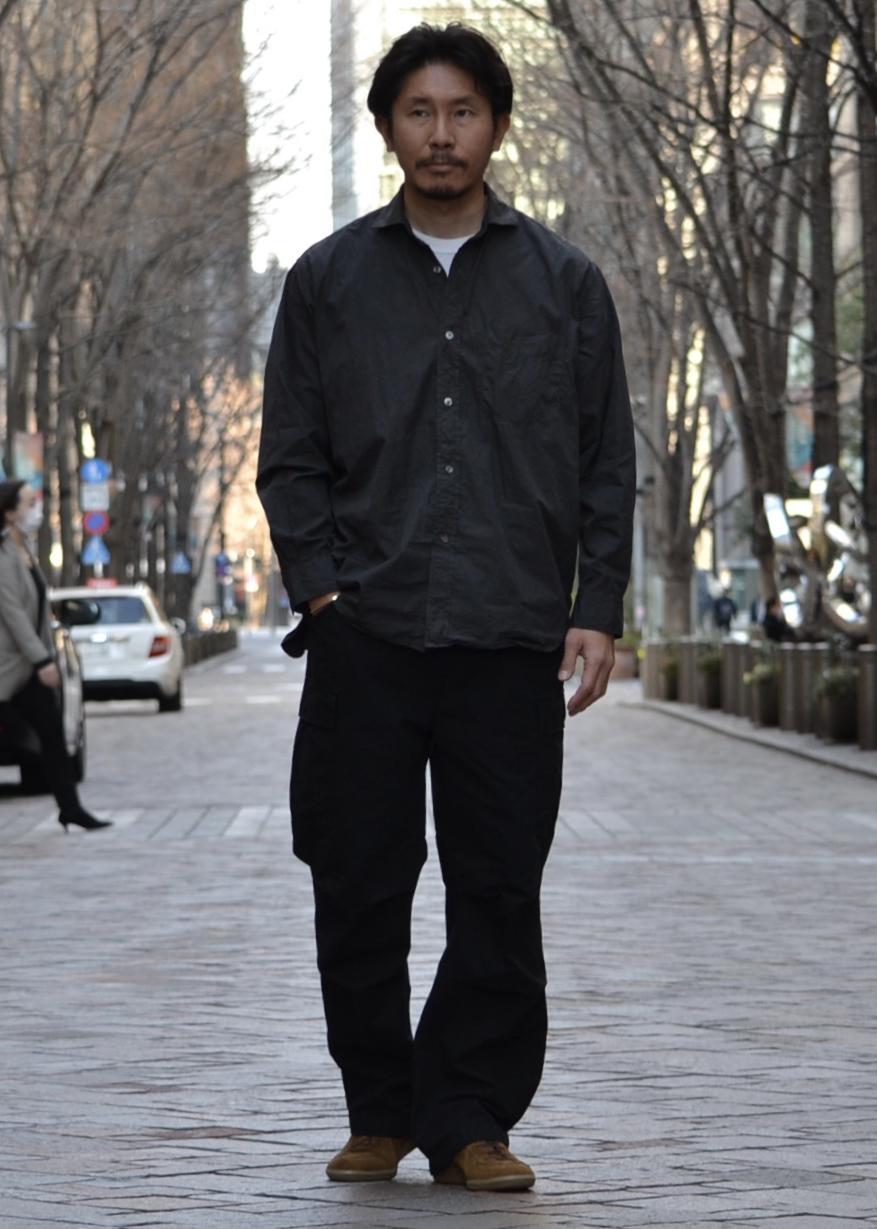 ADAM ET ROPE'の【Wild Life Tailor】カーゴパンツを使ったコーディネートを紹介します。|Rakuten Fashion(楽天ファッション/旧楽天ブランドアベニュー)1099423