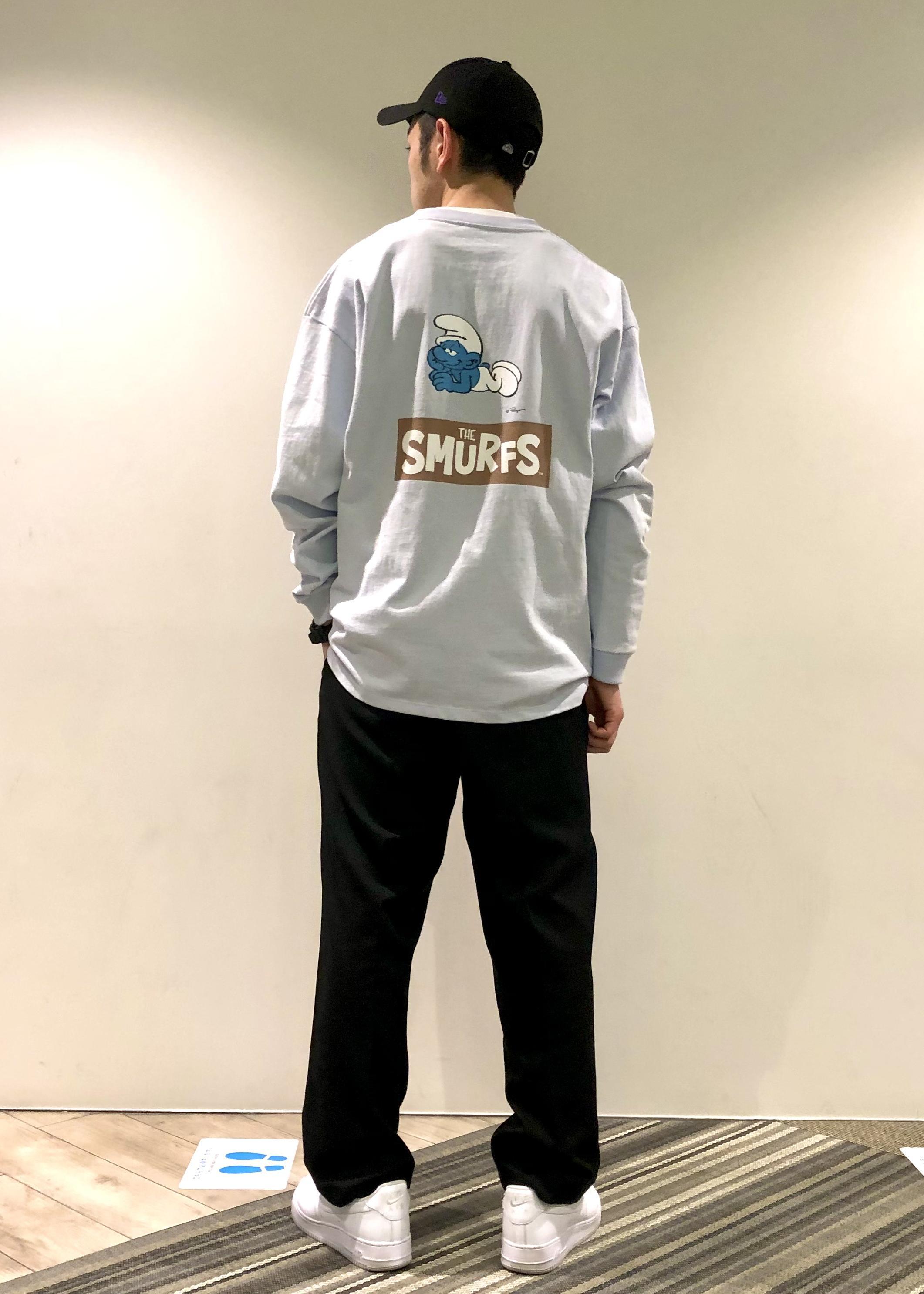 JUNRedのスマーフコラボロンTを使ったコーディネートを紹介します。 Rakuten Fashion(楽天ファッション/旧楽天ブランドアベニュー)1099513