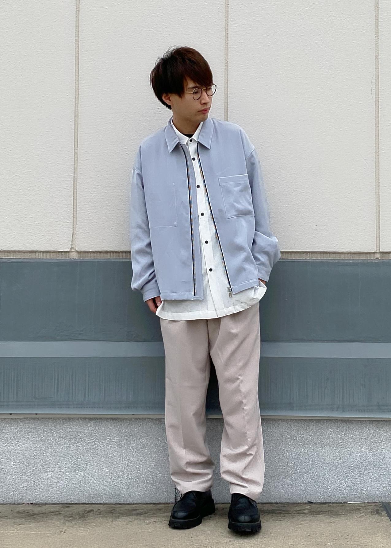 JUNRedの【セットアップ対応】ダブルクロスステッチブルゾンを使ったコーディネートを紹介します。 Rakuten Fashion(楽天ファッション/旧楽天ブランドアベニュー)1099554