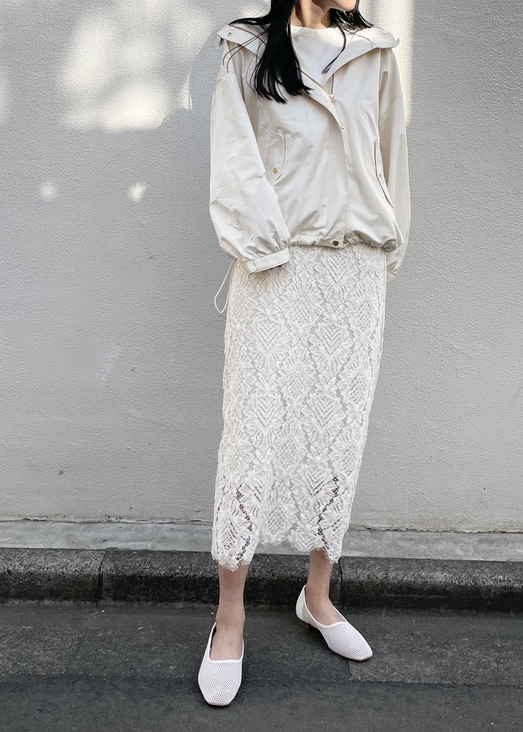 ViSの【花粉ガード】【撥水】ボリュームスリーブマウンテンパーカーを使ったコーディネートを紹介します。 Rakuten Fashion(楽天ファッション/旧楽天ブランドアベニュー)1099582
