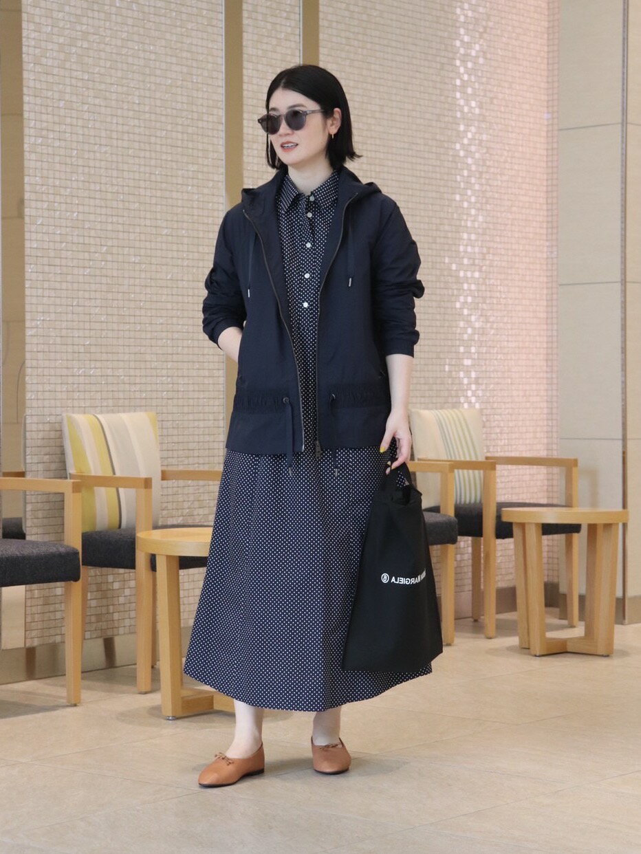 UNITED ARROWSの<dahl'ia(ダリア)>ドット シャツワンピースを使ったコーディネートを紹介します。|Rakuten Fashion(楽天ファッション/旧楽天ブランドアベニュー)1100216