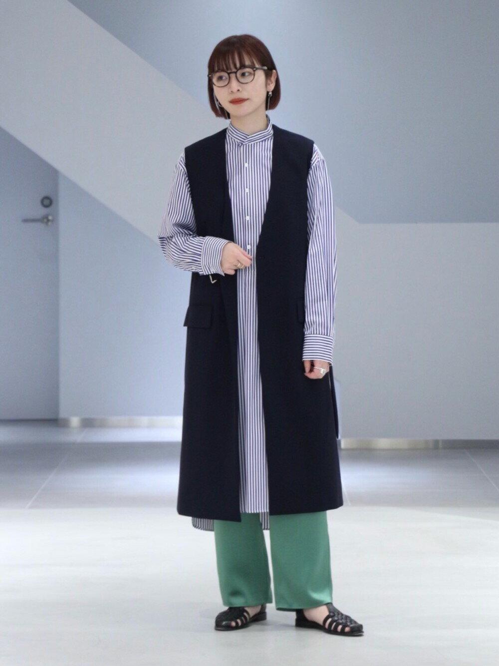 UNITED ARROWSの<LOEFF(ロエフ)> スリーピング シャツワンピースを使ったコーディネートを紹介します。|Rakuten Fashion(楽天ファッション/旧楽天ブランドアベニュー)1100158