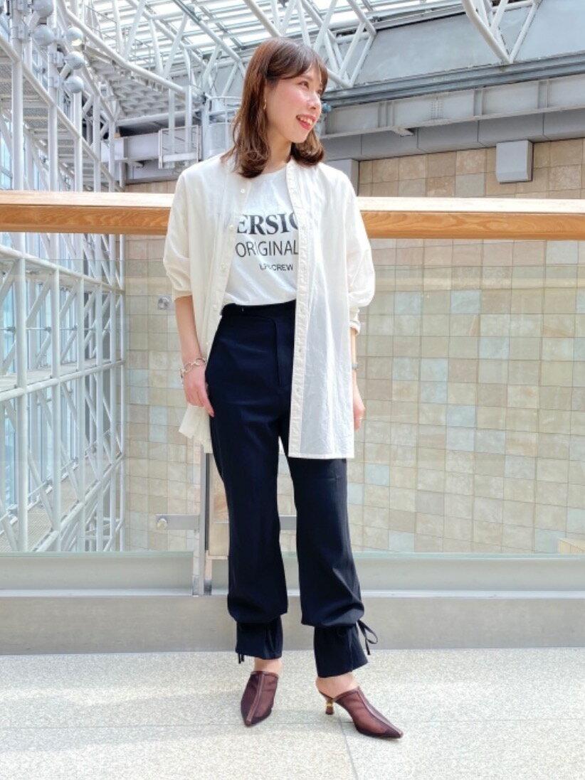Odette e OdileのOID シアーミュール パンプス55を使ったコーディネートを紹介します。|Rakuten Fashion(楽天ファッション/旧楽天ブランドアベニュー)1100327