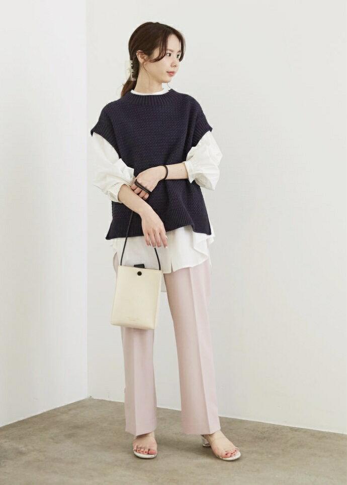 ROPE' PICNICの【WEB限定カラー:イエロー】クリアアッパー円柱クリアヒールミュールを使ったコーディネートを紹介します。|Rakuten Fashion(楽天ファッション/旧楽天ブランドアベニュー)1100804