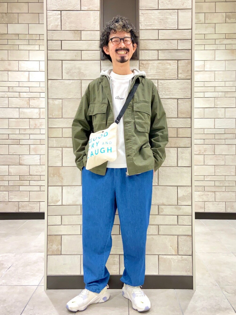 """coenの【WEB限定カラー】USAコットンシェフパンツ""""CHEF PANTS""""#を使ったコーディネートを紹介します。 Rakuten Fashion(楽天ファッション/旧楽天ブランドアベニュー)1101083"""