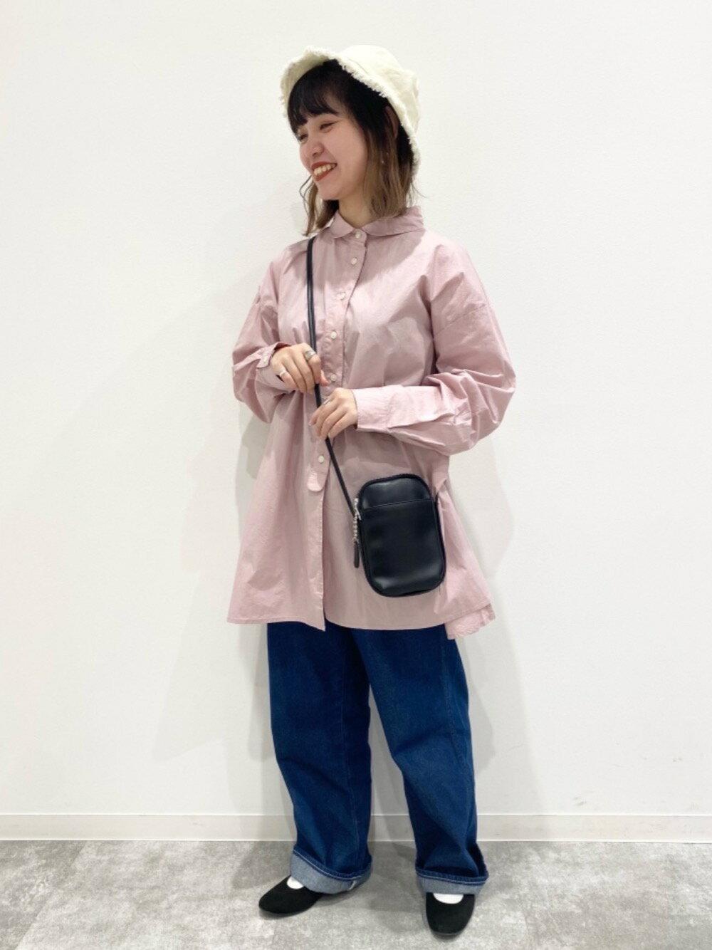 coenのUSAコットンクラシックシャツ#を使ったコーディネートを紹介します。|Rakuten Fashion(楽天ファッション/旧楽天ブランドアベニュー)1101078