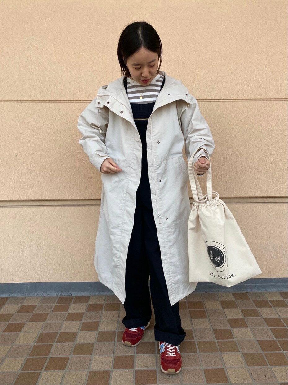 coenのSIERRATEX(シエラテックス)ロングシェル撥水スプリングコート#を使ったコーディネートを紹介します。|Rakuten Fashion(楽天ファッション/旧楽天ブランドアベニュー)1101054