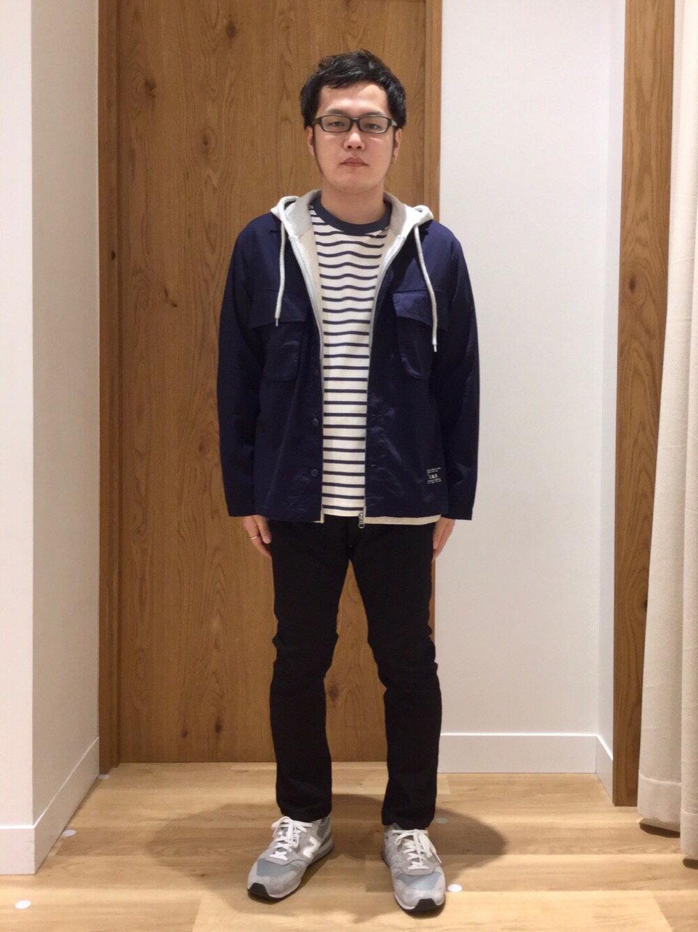 coenのUSAコットンジップパーカーを使ったコーディネートを紹介します。|Rakuten Fashion(楽天ファッション/旧楽天ブランドアベニュー)1101389