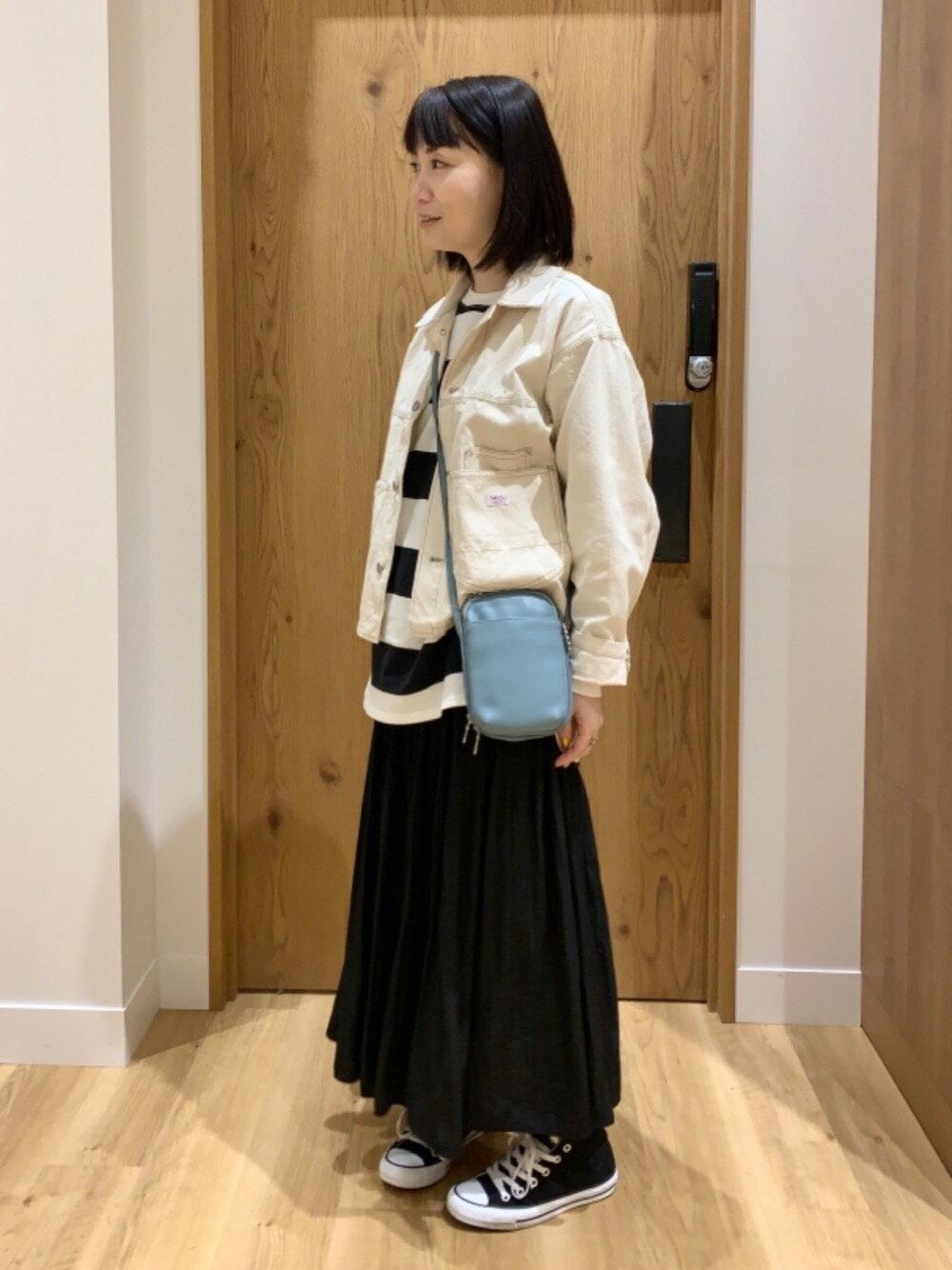 coenのUSAコットンオーバーサイズインレイワイドボーダーTシャツ#を使ったコーディネートを紹介します。 Rakuten Fashion(楽天ファッション/旧楽天ブランドアベニュー)1101408
